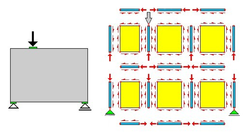Design of concrete shear wall with openings : Stringer panel method